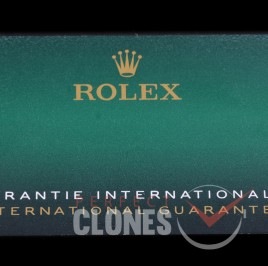 RLACC-907 2020/2021 New Design Rolex Warranty Cards with Matching Model / Serial Printed + NFC Scan