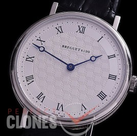 0 0 0 BR-JCA-111 TWF Jubilee Classic 4419 Automatic SS/LE Silver Jap Miyota 9015