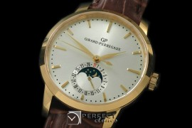 GP10006 1966 Date-Moonphase YG/LE White M-9015