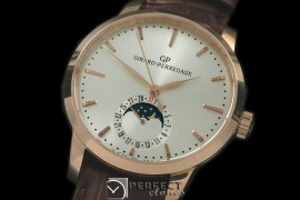 GP10011 1966 Date-Moonphase RG/LE White M-9015