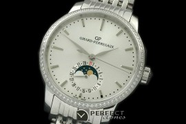 GP10001SD 1966 Date-Moonphase SS/SS White M-9015