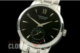MBST10014S Star Calender Moonphase SS/SS Black M-9105