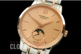 MBST10048S Star Calender Moonphase SS/RG Rose Gold M-9105