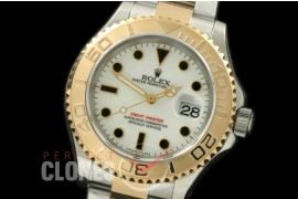 0 RYMENT00021 BP 116623 Yachtmaster Men SS/YG White SA 3135 - Special Offer