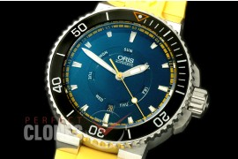 OR00052 Aquis Great Barrier Reef Limited Edition II SS/RU Blue A-2836
