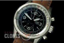 OR00202L Swiss Hunter Special Ed Chronograph SS/LE Black OS 20 Qtz