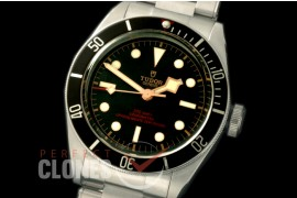 TU00095 Heritage Black Bay Shield OP Special Edition 79230N SS/SS Black/Gold Asian Clone 2824
