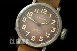 ZN00043 Pilot Type 20 Extra Special 40mm SS/LE Blast Brown M-9015