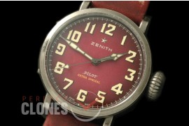 ZN00044 Pilot Type 20 Extra Special 40mm SS/LE Blast Red M-9015