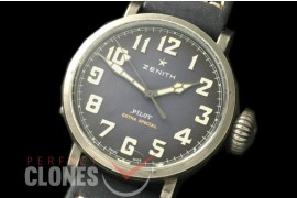 ZN00042 Pilot Type 20 Extra Special 40mm SS/LE Blast Blue M-9015