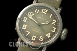 ZN00041 Pilot Type 20 Extra Special 40mm SS/LE Blast Greyish Green M-9015