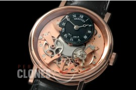 0 BR19111 Tradition 7507 RG/LE Black/Rose Gold Seagull Customs H/W