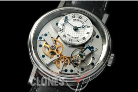 0 BR19101 Tradition 7507 SS/LE Silver/Steel Seagull Customs H/W