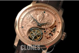 0 VCZ-103 Legend of the Chinese Zodiac - Year of the Tiger Tourbillon RG/LE Flying Man Tourbillon