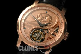 0 VCZ-112 Legend of the Chinese Zodiac - Year of the Pig Tourbillon RG/LE Flying Man Tourbillon