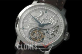 0 VCZ-096 Legend of the Chinese Zodiac - Year of the Snake Tourbillon SS/LE Flying Man Tourbillon