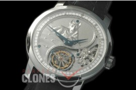 0 VCZ-100A Legend of the Chinese Zodiac - Year of the Dog Tourbillon SS/LE Flying Man Tourbillon
