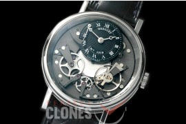 0 BR19102 Tradition 7507 SS/LE Black/Steel Seagull Customs H/W