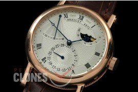BR00067 Calender/Moonphase Power Reserve RG/LE Silver Seagull ST17