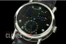 BR00062 Calender/Moonphase Power Reserve SS/LE Black Seagull ST17