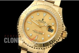0 RYMENF00024 BP 116628 Yachtmaster Men YG/YG Gold SA 3135 - Special Offer