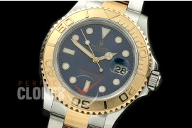 0 RYMENT00023 BP 116623 Yachtmaster Men SS/YG Blue SA 3135 - Special Offer