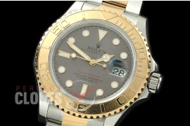 0 RYMENT00026 BP116623 Yachtmaster Men SS/YG Grey SA 3135 - Special Offer
