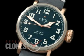 ZN00062 Pilot Type 20 Extra Special Westime Ed BZ/LE Blue M-9015