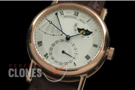 BR00014 Calender/Moonphase/Reserve RG/LE Silver Miyota 9015 Mod to Calibre 5165R