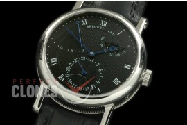 BR00012 Calender/Moonphase/Reserve SS/LE Black Miyota 9015 Mod to Calibre 5165R