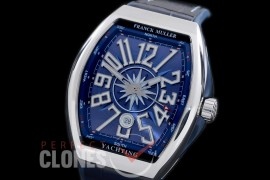 0 FMVG-087 Vanguard Yachting V45 SC DT Yachting AC Automatic SS/RU Blue A-2824