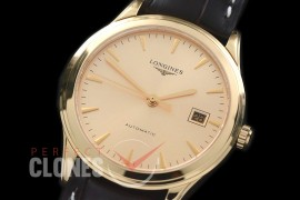 LG00152 Master Collection Automatic Date YG/LE Gold Sticks M-9015