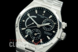 0 VCO-042S Overseas Calendar/Power Reserve/Duo Time Zone Complications SS/SS Black Asian Modified Movt