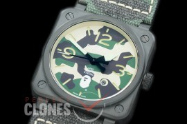 0 0 BR03-92-132A BR03-92 Apes Together Stronger Limited Ed PVD/LE Camo Miyota 9015