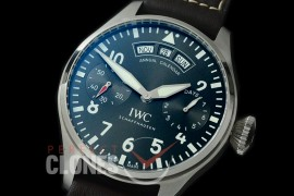 0 0 IWP7D00059 Big Pilot 150 Years Limited Ed 7 Days Annual Calender 5027-03 SS/LE Grey A-52850