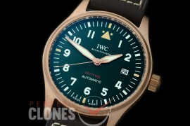 IWSPF-112 XF/VSF Pilot Automatic Spitfire Bronze Special Edition IW362802 BZ/LE Black A-2824