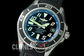BLSF00105 GMF Superocean Abyss 42 SS/RU Black/Blue Asian Clone 2824 - Special Offer