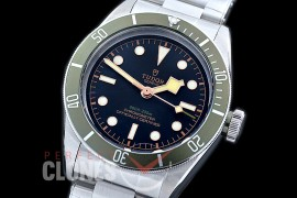 0 0 TU00154 Harrods Special Ed Heritage Black Bay Shield 79230G SS/SS Black/Red Asian 2813 - Free Shipping