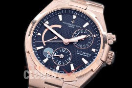 0 VCO-052S Overseas Calendar/Power Reserve/Duo Time Zone Complications RG/RG Black Asian Modified Movt