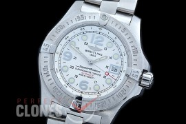 0 0 0 BLSF00088S Superocean Steelfish V3 SS/SS White Asian Clone 2836 - Special Offer