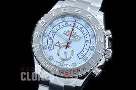 0 0 0 RYM2-051 JHF Yachtmaster II 116689 SS/SS White A-7750