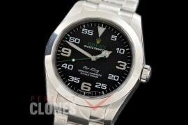 RLAK00051 NF 2016 Airking 116900 SS/SS Black Asian Clone 2836 - Special Offer