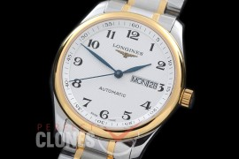 0 LG00183S XF Master Daydate Automatic Date SS/YG White Numeral A-2824