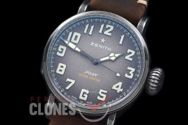 ZN00053 Pilot Type 20 Extra Special 45mm SS/LE Blast Grey A-2824