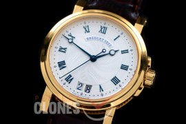 0 BR18104 Big Date Marine Automatic YG/LE Silver Customized Perpetual Big Date Movt