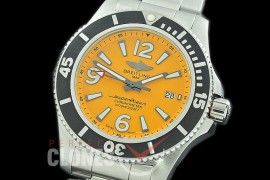 0 0 0 BLSF44-024 TBF Superocean 44 Automatic SS/SS Yellow Asian Clone 2824