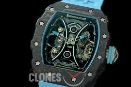 RM053-01-005 RM 053-01 Pablo Mac Donough Limited Ed NTPT/RU Skeleton Customized Movt