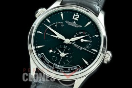 0 0 JLMRDT-002 ZF Master Reserve Duo Time SS/LE Black Asian Modified Movt