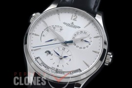 0 JLMRDT-101 Master Reserve Duo Time SS/LE White Asian Modified Movt