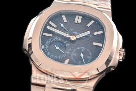 PP-5712-113S PF Nautilus 5712 Date/Moon Phase Power Reserve RG/RG Brown Asian Customized Calibre 320